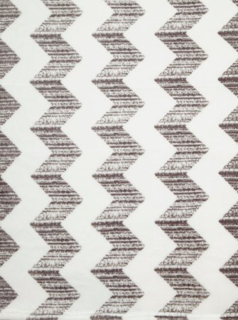 Zig Zag Printed Supersoft Throw