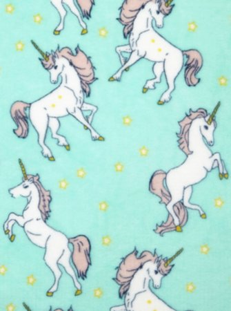 Unicorn Printed Supersoft Throw