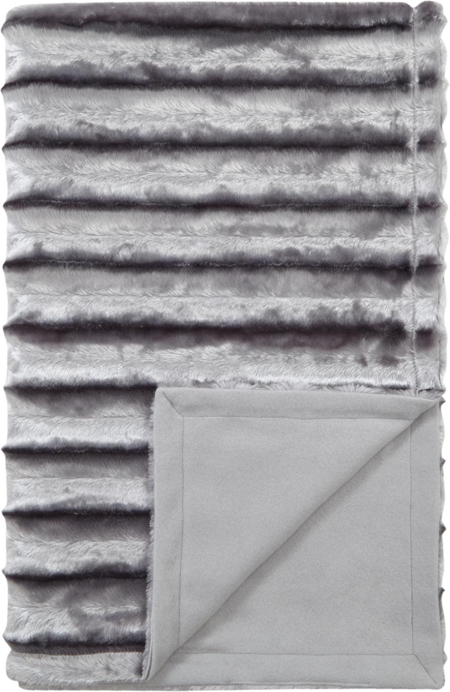 Grey Blankets & Throws Home & Garden