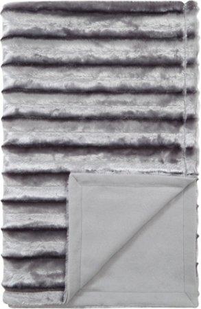 Faux Fur Ribbed Cushion & Throw Range