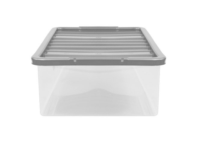 Clear 12L Storage Box Lid Home Garden George