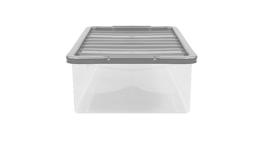 Clear 12L Storage Box & Lid