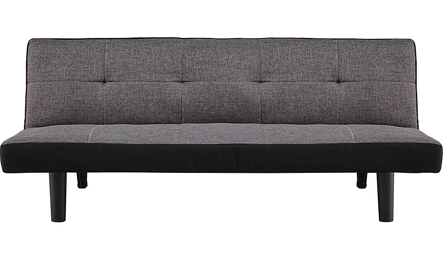 clack 2 seater Sofa Bed Charcoal Furniture