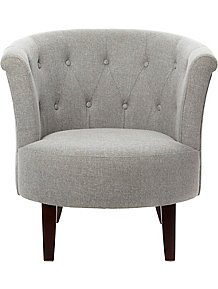 Oned Tub Chair Grey