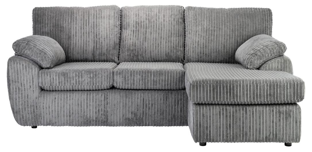 Caitlin Left Hand Corner Sofa Grey Furniture George