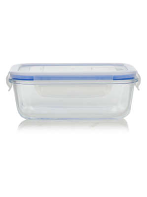 Beautiful Food Storage Containers Asda Part - 14: George Home Glass Food Storage Box 0.65 L