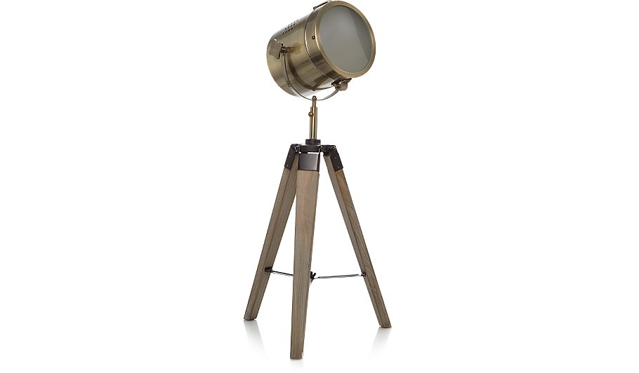 Industrial tripod table lamp home garden george aloadofball Images