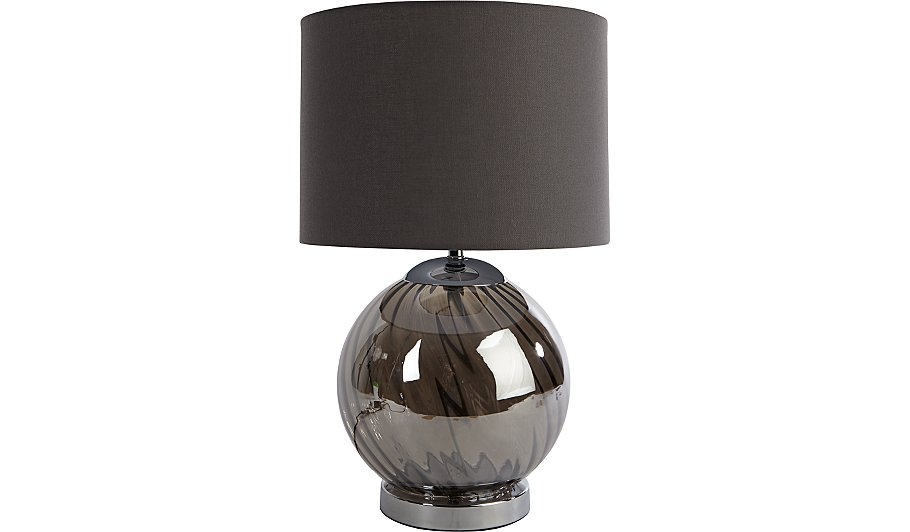 as rndcrmgry striped base cream shade fast free with round delivery white lamp grey table light