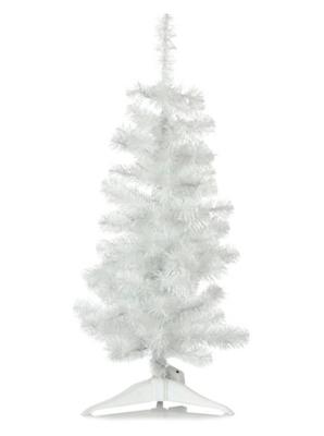 3ft White Pre Lit Christmas Tree