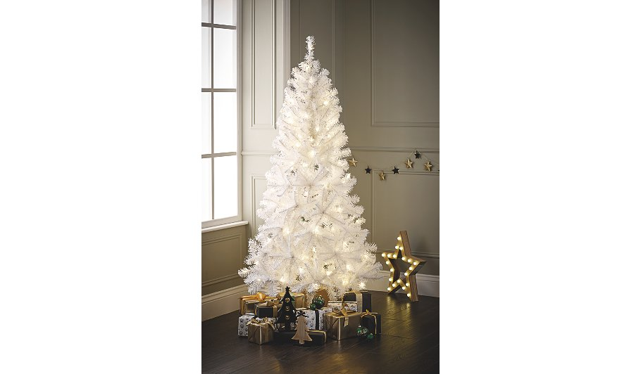 White 6ft Christmas Tree