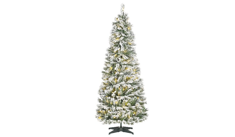 5ft Snowy Pop-Up Christmas Tree