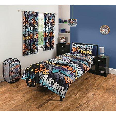 Graffiti Bedroom Range Bedding George At Asda