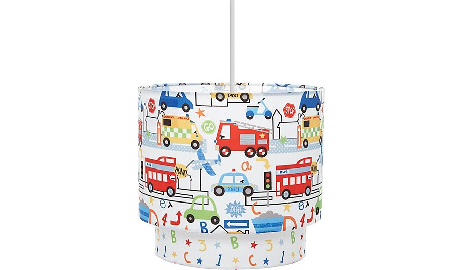 Transport Abcs Ceiling Shade Home Garden George