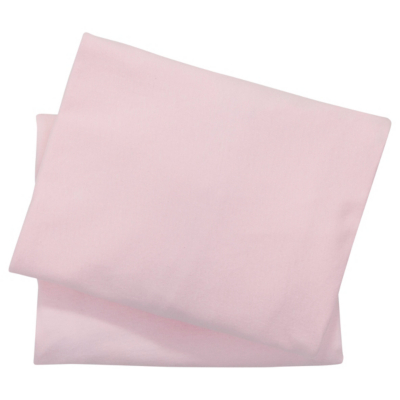 Bon Pink Cotbed Fitted Sheets   2 Pack