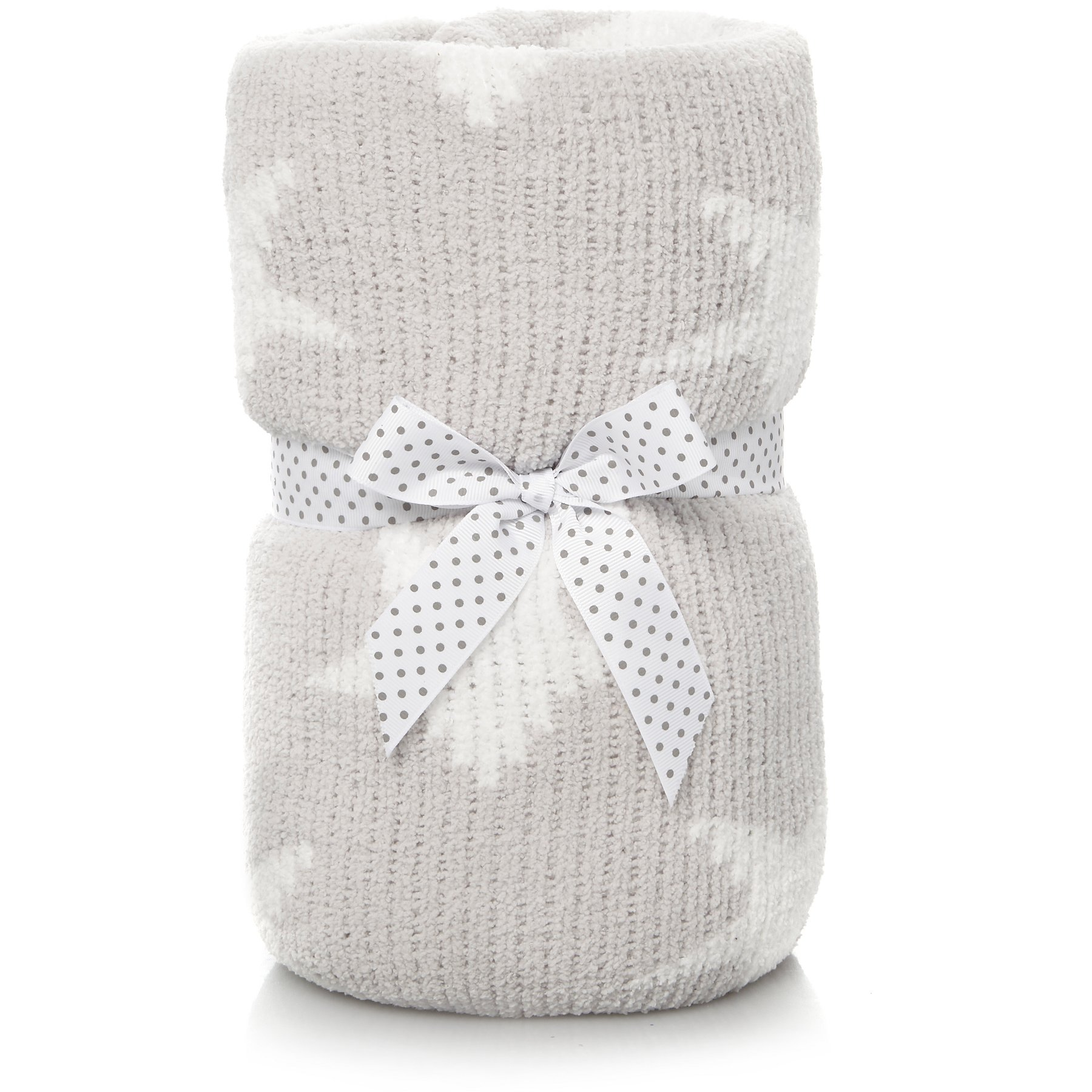 Star Chenille Baby Blanket George