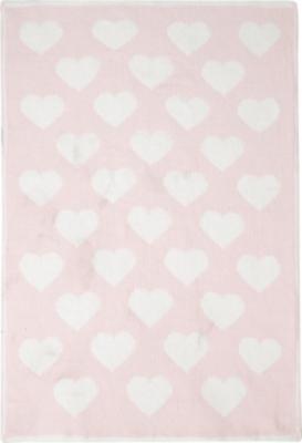 heart chenille blanket - Chenille Blanket