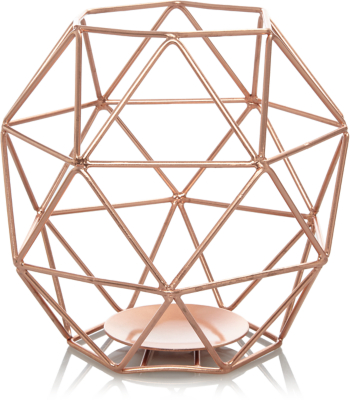 Copper Wire Candle Holder
