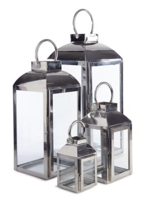 Small Chrome Lantern