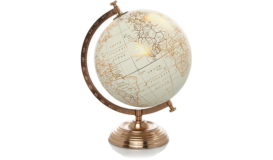 Copper globe home garden george copper globe gumiabroncs Gallery