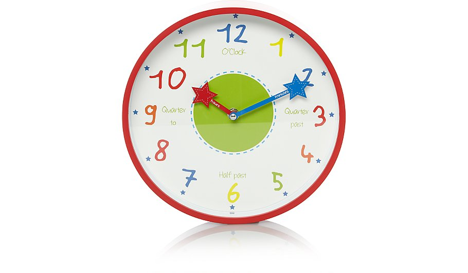 Kids Wall Clock Home Garden George