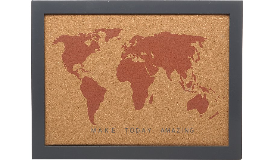 Make today amazing world map pin board home garden george make today amazing world map pin board gumiabroncs Choice Image