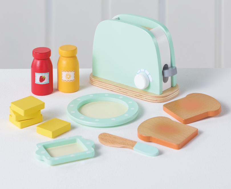 George Home Wooden Toaster Toys Character George