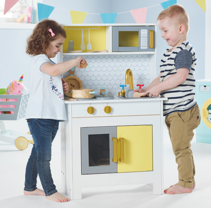 Foldaway Kitchen Toys Character George