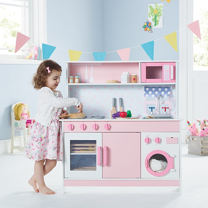 77621dabc42e Pink Wooden Kitchen | Toys & Character | George
