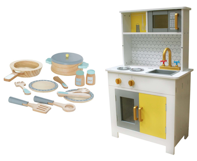 Foldaway Kitchen And Cooking Set Toys Character George