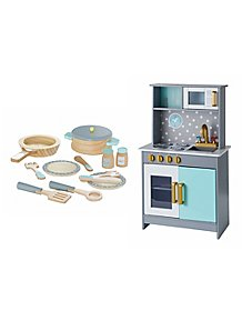Wooden Deluxe Kitchen and Cooking Set 5062933ab