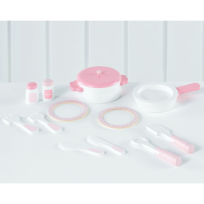 eb055f6cac9a Pink Wooden Cooking Set | Toys & Character | George