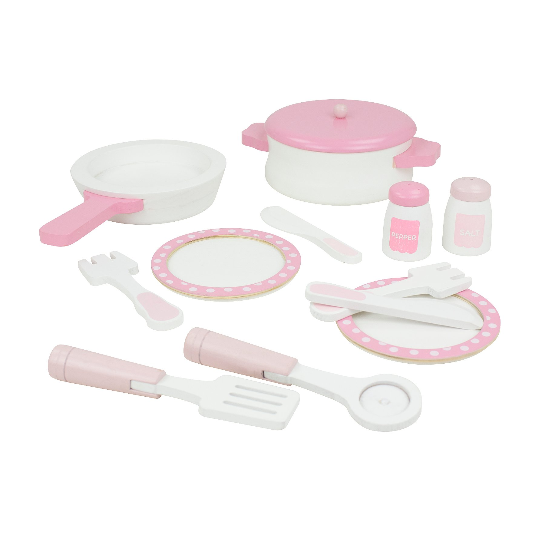 0560aa688c31 Pink Wooden Cooking Set | Toys & Character | George