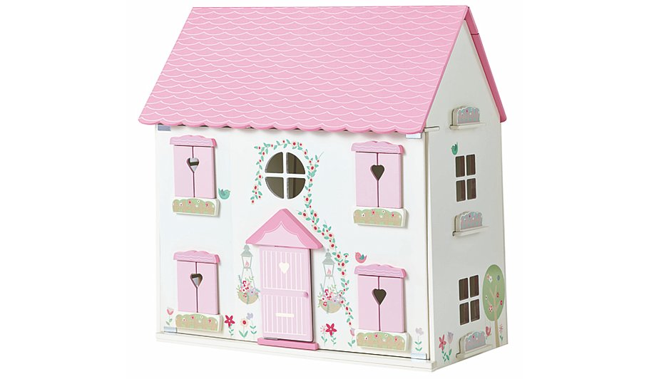 George Home Wooden Dolls House Furniture Set Toys