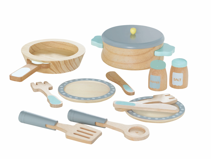 Wooden Cooking Set Toys Character George