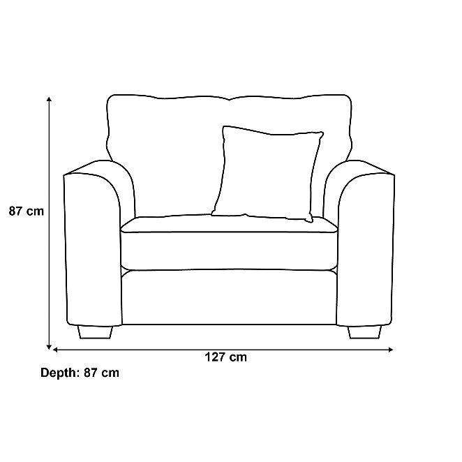 426cbc9ae Glynn Love Seat - Fine Velvet