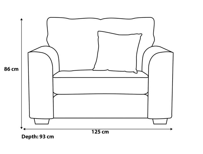 Edmund Love Seat Furniture George