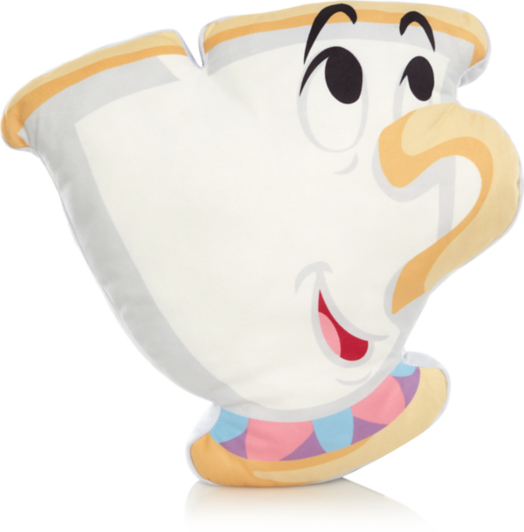 disney beauty and the beast chip cup cushion home