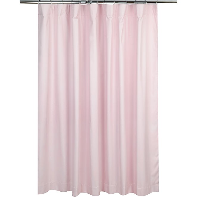 Pink Blackout Pencil Pleat Curtains Home George At Asda