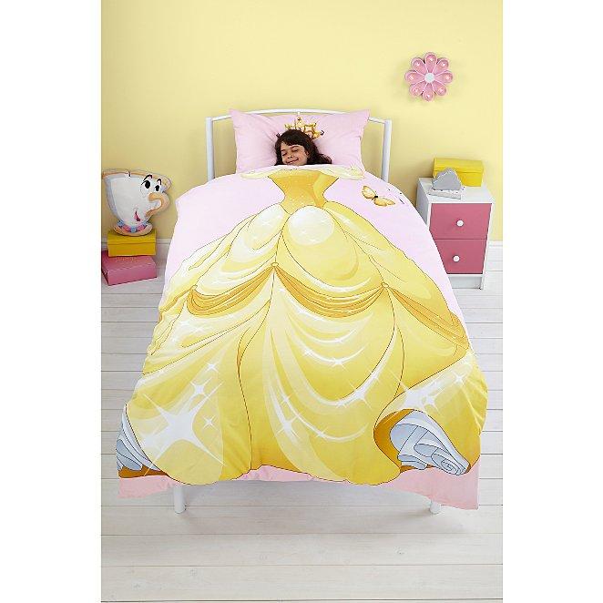 Disney Princess Reversible Dress Up, Disney Belle Double Bedding