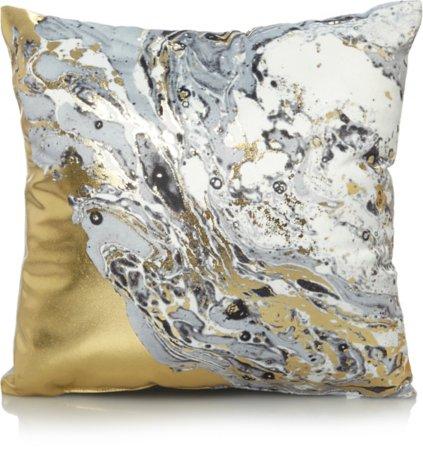 Marble Print Mini Cushion