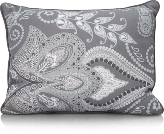 Quilted Mini Cushion - Paisley Print