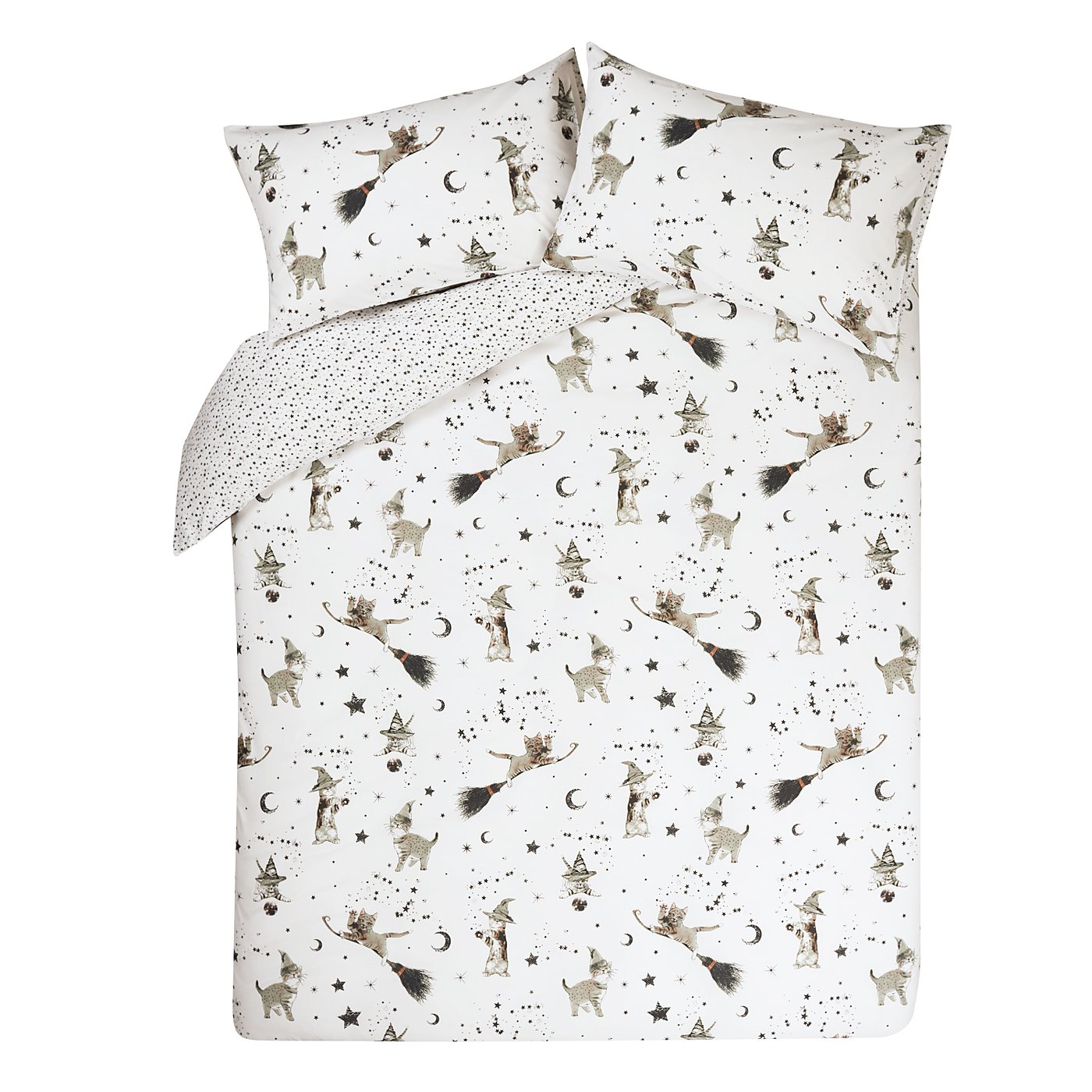 Wizard Cats Bedding Range | Duvet Covers | George at ASDA