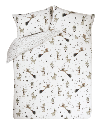 wizard cats bedding range  loading zoom wizard cats bedding range   duvet covers   george at asda  rh   direct asda