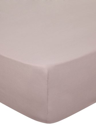 Fitted Sheet & Pillowcases Range - Heather