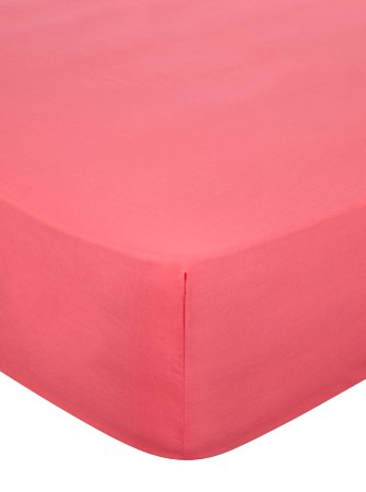 Fitted Sheet & Pillowcases Range - Pink