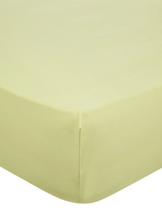 Fitted Sheet & Pillowcases Range - Green