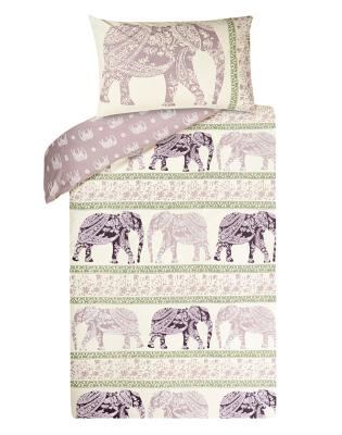 elephant reversible duvet cover