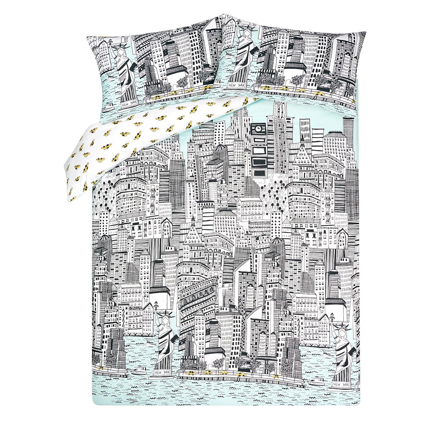 New York Bedding Set Asda Bedding Designs