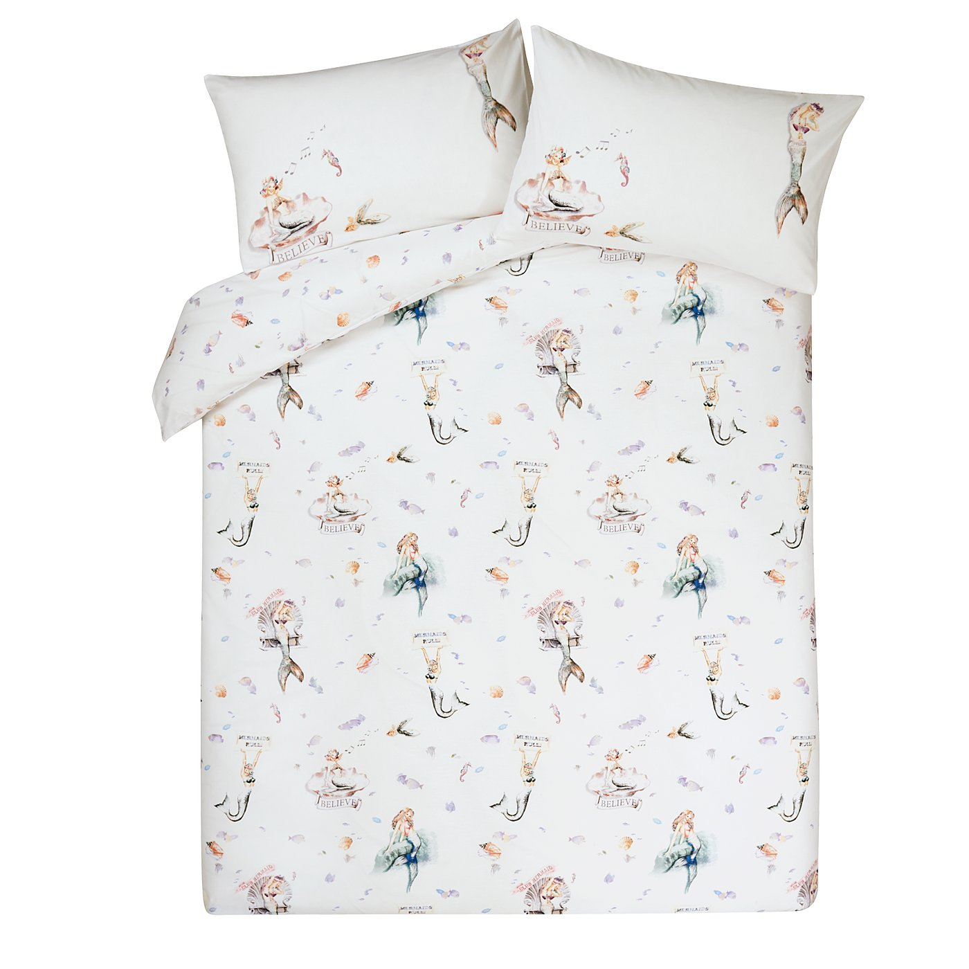 Mermaid Bedroom Set  Loading zoom. Mermaid Bedroom Set   Duvet Covers   George at ASDA