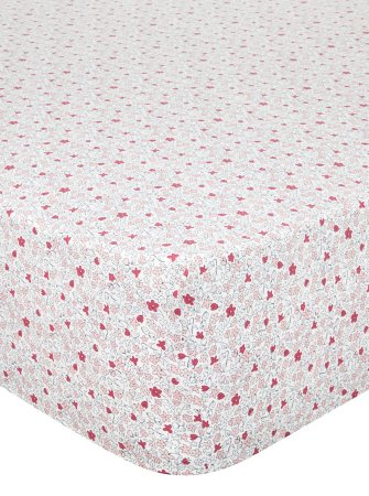 Fitted Sheet & Pillowcases Range - Floral Print